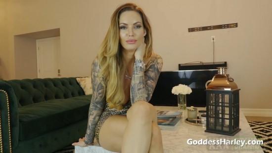 [GoddessHarley.com   Clips4sale.com] Goddess Harley – Amuse Me Dildo Cum Slut (2021)