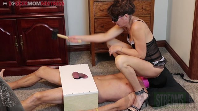 Soccer Step Mom Mistress Cock Box Smother Rubber Mallet Oxygen Deprivation.mp4.00000
