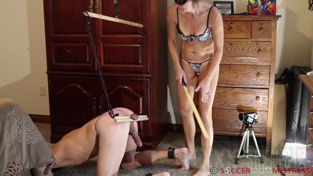 Soccer Step Mom Mistress Humbler Hoist BALLBUSTING.mp4.00007