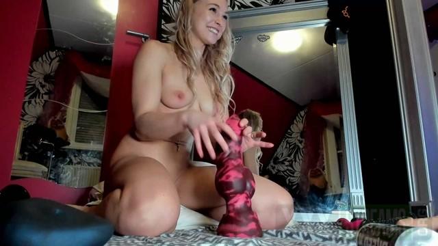 Siswet19 Naked blonde teen girl monster dildos anal penetration fully.mp4.00006