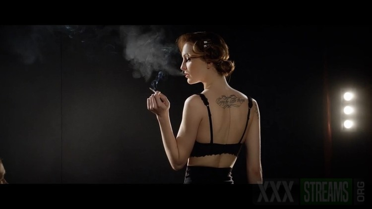 Hot czech babe Belle Claire enjoys smoking and deep anal cover l