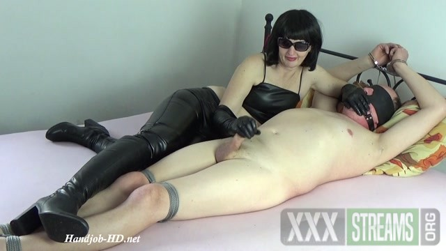 Handjob and blowjob in long leather gloves for my tied husband Bondageangel.mp4.00013
