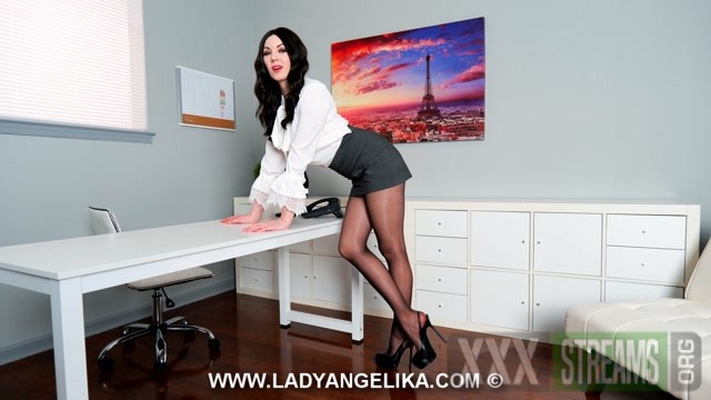 Lady Angelika Give In To Your Leggy Brunette Coworkers Whims Day One.mp4.00008