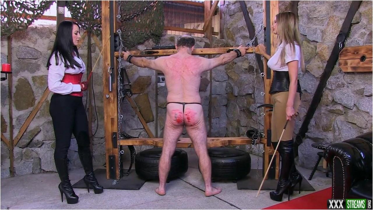 SADO LADIES – Mistress Nikki Miss Jessica – Punishment – Femdom spanking