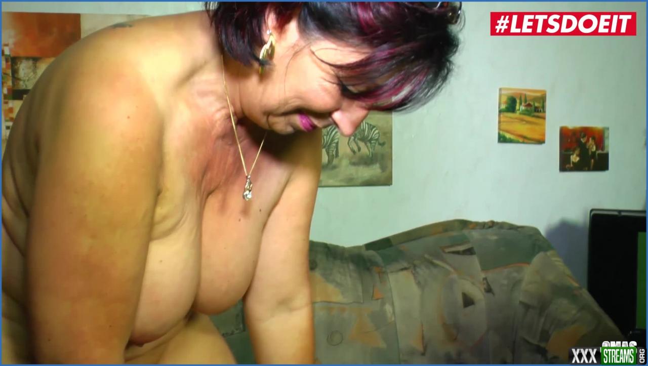 letsdoeit amateur granny enjoys naughty hard fuck