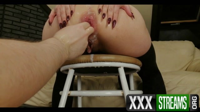 Dismoralica ass on chair fisted and prolapsed 00007