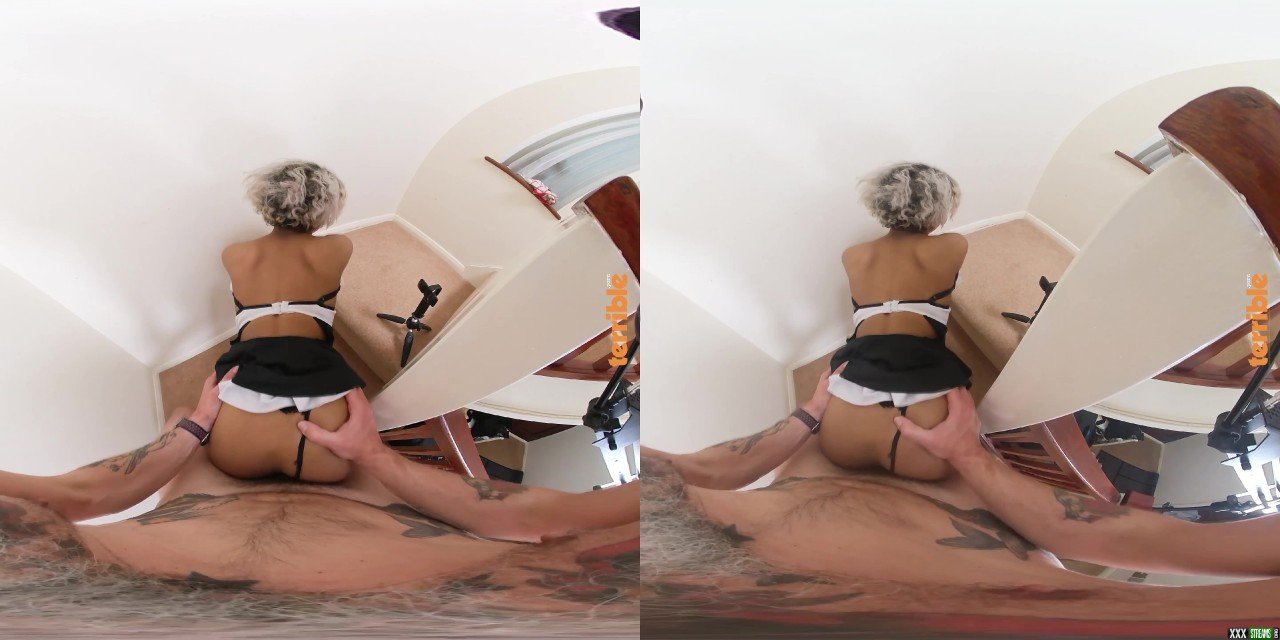 [perVRt] Bluelah – The Maid Who Made a Mess (5760×2880)