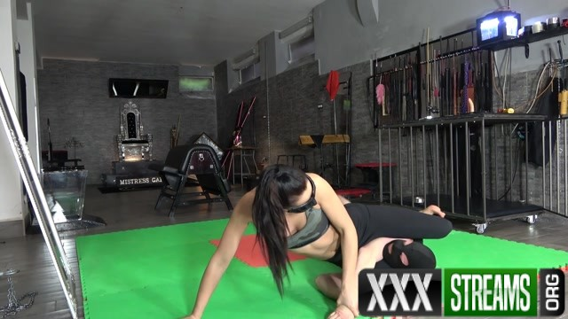 Mistress Gaia Wrestling My Assfuck Bunny 00003