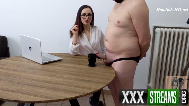 Ruined Orgasm Milking my Butler for a Dash of Cum Dame Olga s Fetish Clips HandJob 00013