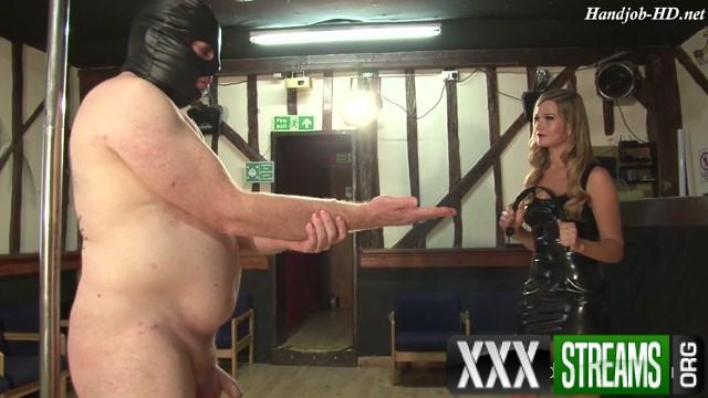 Punishing a compulsive masturbationist Miss Honour May HandJob 00001