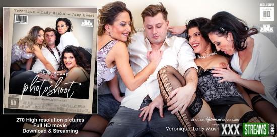 [Mature.nl   Mature.eu] Jane Sweet (38), Lady Masha (48), Mick Larsen (27) & Veronique (43) – Three horny cougars se…